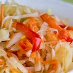 3260 Рецепт Маринована капуста з болгарським перцем
