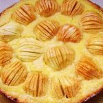 3263 Рецепт Яблучний пиріг по-ельзаськи