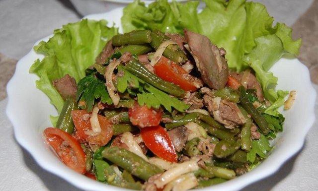 3311 Рецепт Печінка з овочами по-сінгапурськи