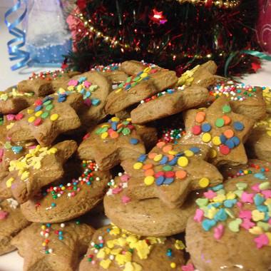 3321 Рецепт Медове печиво з горіхом і корицею