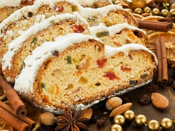 """Рецепт Німецький святковий кекс """"Штоллен"""""""