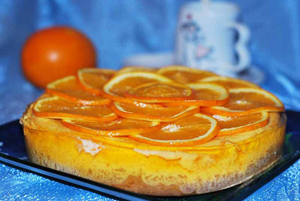 3348 Рецепт Апельсиновий пиріг