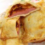 3354 Рецепт Закрита міні-піца з ковбасою і сиром