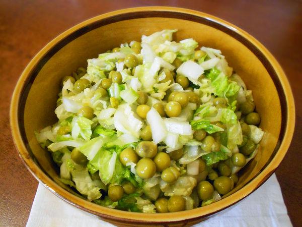 3404 Рецепт Салат з пекінської капусти «Простий»