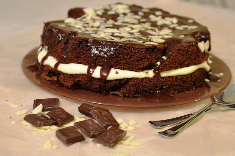 3418 Рецепт Шоколадно-горіхові тістечка