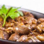 3427 Рецепт Курячі сердечка гостро-вершкові
