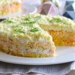 3438 Рецепт Салат з рисом і яйцями