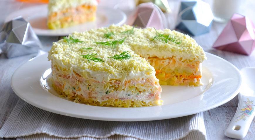 Рецепт Салат з рисом і яйцями