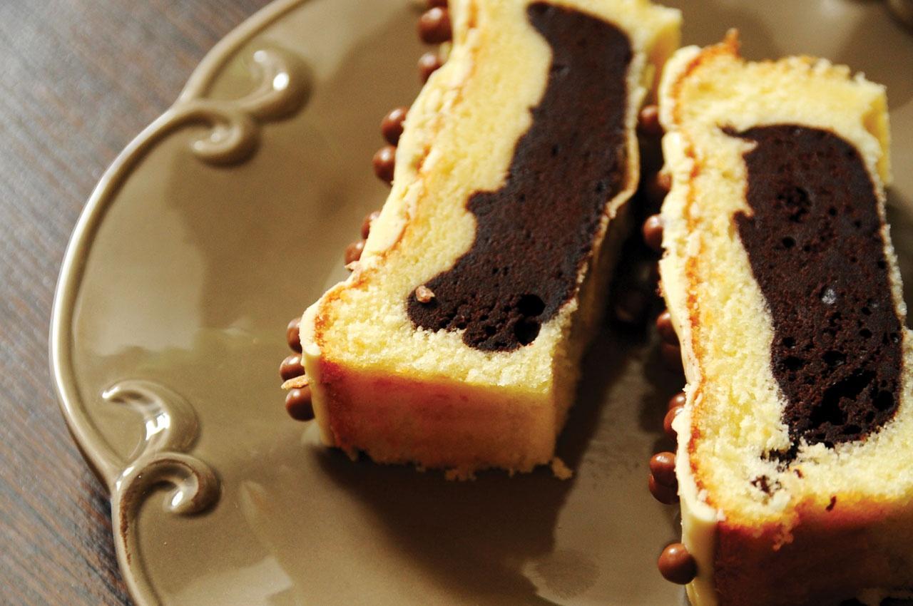 3442 Рецепт Пиріг з шоколадною начинкою