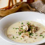 3468 Рецепт Грибний суп-пюре з фенхелем