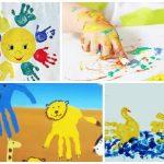 3875 Як малювати пальчиковими фарбами з дитиною – малюнки пальцями для дітей