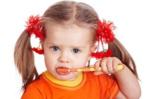 5166 Как чистить зубы ребенку в 2 года?