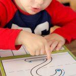 5694 Пишем цифры по клеточкам для дошкольников – как пишется число 8?